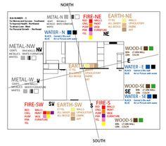 feng shui paint color chart color chart info pinterest paint
