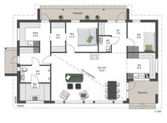 House Plans, Floor Plans, Flooring, How To Plan, Case, Deco, Building, Interior, Home Plans