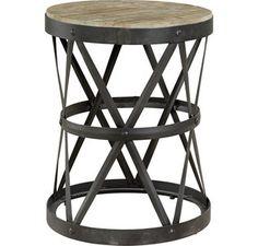 ELMWOOD Side table round