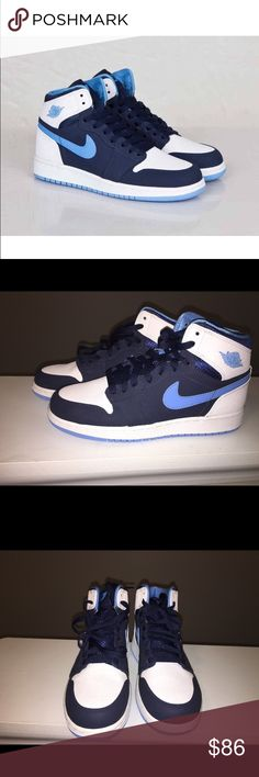 Nike Air Jordan Retro I 1 Brand new retro Jordan 1s. Size 5.5Y / 7 women's. 100% authentic. Box is missing top. No lowballers. If submitting an offer , please use the offer button. Thanks Jordan Shoes Sneakers