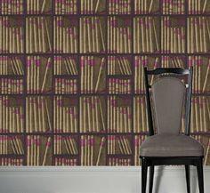 Modern Wallpaper, Ex Libris - 11041 | Viesso $268.00