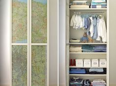 Should the day come... I will totally work with the map cupboard idea for any kids we may have... boy or girl.