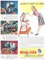 Wearever Aluminum Utensils 1946 Ad Picture
