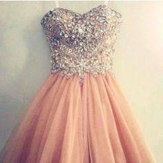vestidos de 15 años palo de rosa cn dorado - Buscar con Google