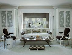Mary McDonald - Love it  - Sitting Area in Master Bedroom