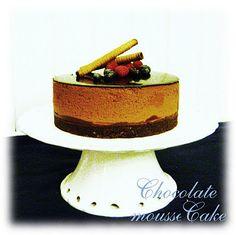 Louise´s Spis: Chocolate Mousse Cake with Raspberries (Underbar Chokladmoussetårta med hallon)