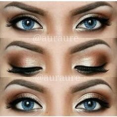 12 Easy Ideas For Prom Makeup For Blue Eyes Gurl Daily Eye Makeup, Prom Eye