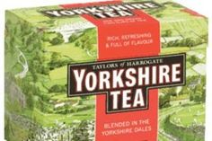English tea...Taylors of Harrogate Yorkshire Gold = Heavenly goodness!