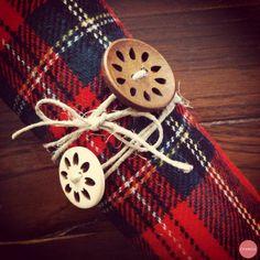Diy - I portatovaglioli di Natale