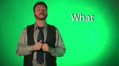 Sign Language Words, American Sign Language, Share Gif, Nifty, Animated Gif