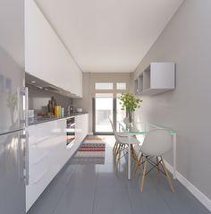 galeria de imagenes interior residencial mirabal en boadilla del monte #cocinasmodernasminimalistas #cocinapequeña