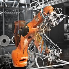 Students Develop 6-Axis Robotic 3D Printer Inspired by Spiderwebs http://3dprint.com/41183/robotic-6-axis-3d-printer/