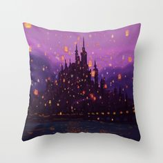 Portrait of a Kingdom: Corona Throw Pillow - I think I'm planning a bedroom for one of my future little girls...