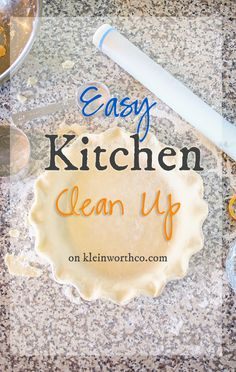 Easy Kitchen Clean U