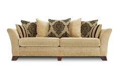 Hennessey 4 seater casual back sofa