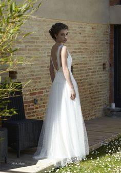 Robe de mariée robe romantique et grand dos nu Muse