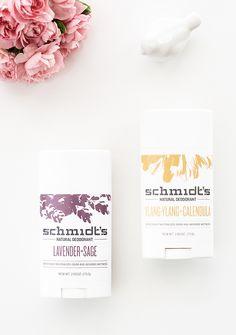 Schmidt's Natural Deodorant Sticks | Organic Beauty Blogger