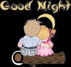 buenas noches mirando la luna