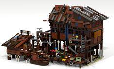 LEGO Ideas - Captain Rob's Wharf