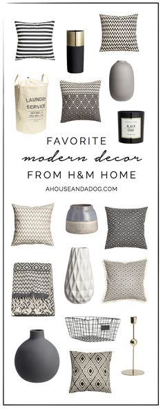 Modern Decor from H&M Home - Designed Simple House Color Schemes, House Colors, Rental Decorating, Decorating Your Home, Diy Home Crafts, Diy Home Decor, Hm Home, Southern Homes, Home Decor Inspiration