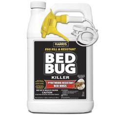 Harris Toughest Bed Bug Killer, Liquid Spray with Odorless and Non-Staining Extended Residual Kill Formula (Gallon). Harris pyrethroid-resistant bed bug Killer will kill the toughest bed bugs & their eggs. Bug Control, Pest Control, Bed Bug Spray, Insect Repellent Spray, Bed Cleaner, Pest Management, Concrete Pavers, Bed Bugs, Cool Beds