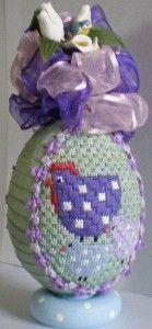 Easter egg needlepoint