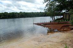 Pontos Turísticos de Mato Grosso: Nas margens do Rio do Sangue, Trairão ainda é o me...