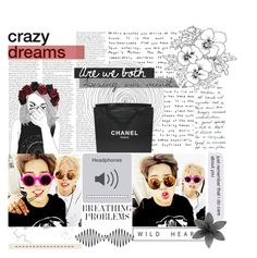 """""""✧・゚:* K Questions ¡!"""" by trnslucid ❤ liked on Polyvore featuring Chanel and art"""