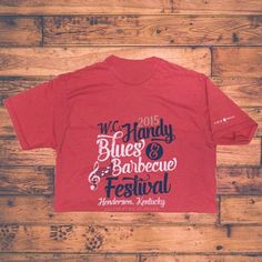 The #handybluesfest is free but purchasing cute tees like this help fund the festival for next ear. #helpkeepitfree
