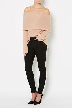 Fold Over Knit