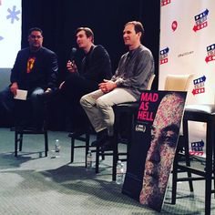 @cenkuygur @mad.andrew and @davekoller67 doing a #madashell q&a at #Politicon