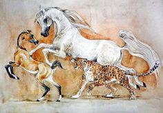#horseart #painting #ArabianHorse