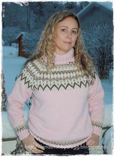 Lenashobbyblogg: Strikkaklær Retrogenser Turtle Neck, Sweaters, Fashion, Moda, Fashion Styles, Fasion, Sweater, Sweatshirts