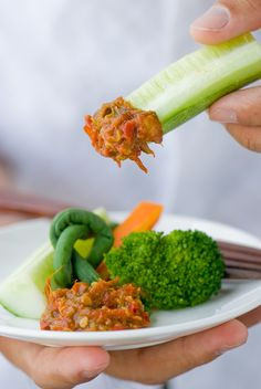 Indochine Kitchen » Sambal Belacan, the Famous Spicy Dip with Shrimp Paste
