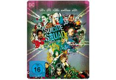 Suicide Squad (Steelbook) (Kinofassung & Extended Cut) - (Blu-ray)