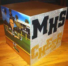 Rhinestone Cheer Box made with Dazzling Diamond Sticker Sheets! Look into this prooduct Cheer Box, All Star Cheer, Cheer Gifts, Cheer Tryouts, Cheer Coaches, Varsity Cheer, Football Cheer, High School Cheerleading, Cheerleading Bows