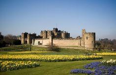 Le château d'Alnwick, en Angleterre