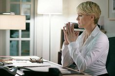 Claire Underwood Style - House of Cards - Elle