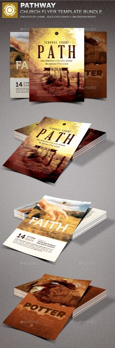 Stay Strong Church Marketing Flyer Bundle Marketing flyers - promotional flyer template