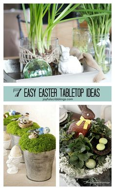 7 Easty Easter Table