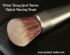 This gives a totally flawless finish! Urban Decay Good Karma Optical Blurring Brush