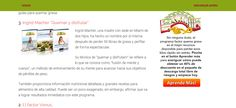 The site reviews and promotes the Fat Burning Program PDF ebook - Factor Quema Grasa - the site is written Spanish and dedicated to Spanish speaking countries -- http://programafactorquemagrasa.com/