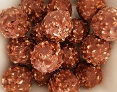 Chocolate Treats, Chocolate Hazelnut, Rocher Chocolate, Chocolate Recipes, Lemon Recipes, Sweet Recipes, Easy Recipes, Food Network Recipes, Cooking Recipes