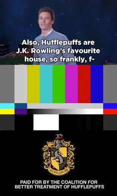 But, most importantly, Eddie had a message for all the Hufflepuff-haters out there. Nancy Reagan, Hufflepuff Pride, Harry Potter Quotes, Quotes From Harry Potter