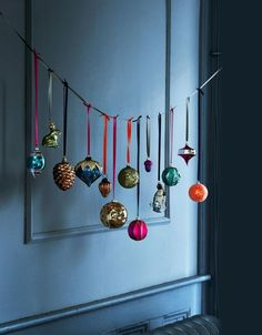 Des boules de Noël d