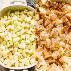 Apple Crumble Recipe - Super easy, awesomely delicious Apple Crumble bursting with warm cinnamon apples and a sprinkle of sweet and crunchy topping. This has to be the best Apple Crumble recipe, and it will have you licking your plate clean! Best Apple Crumble Recipe, Apple Crumble Topping, Easy Apple Crumble, Pie Crumble, Apple Crisp Recipes, Best Apples For Baking, Strawberry Rhubarb Crumble, Apple Bite, Thanksgiving Recipes
