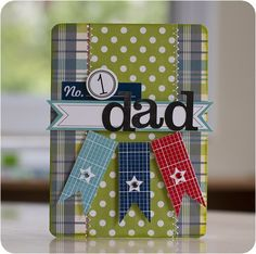 No.1 Dad by Justlulu in the cardmaking gallery at Two Peas