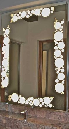 Decorative Mirrors With Frosted Etched And Carved Designs By Sans Soucie Art Gl Add A Beautiful Custom Element To Any Bathroom Mirror