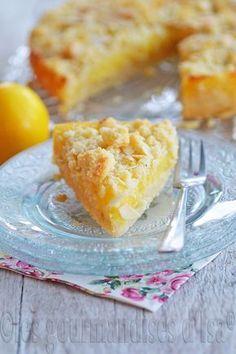 Gâteau Sablé au Citron Meyer et à la Poudre d'Amandes