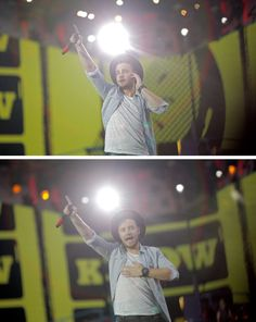Vienna 06.10.15 || he's got the whole pop star point thing down